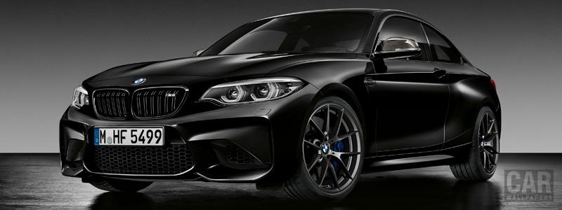 Обои автомобили BMW M2 Coupe Edition Black Shadow - 2018 - Car wallpapers