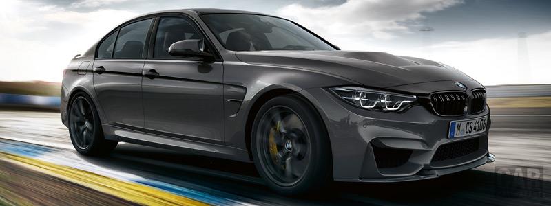 Обои автомобили BMW M3 CS - 2018 - Car wallpapers