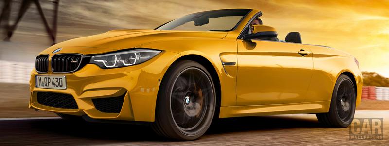 Обои автомобили BMW M4 Convertible 30 Jahre Edition - 2018 - Car wallpapers