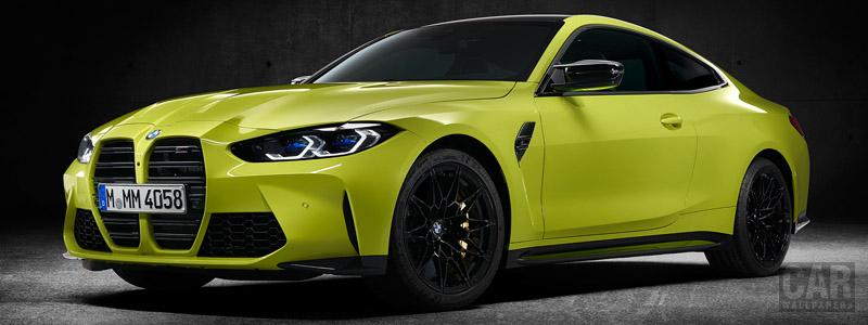 Обои автомобили BMW M4 Competition - 2020 - Car wallpapers