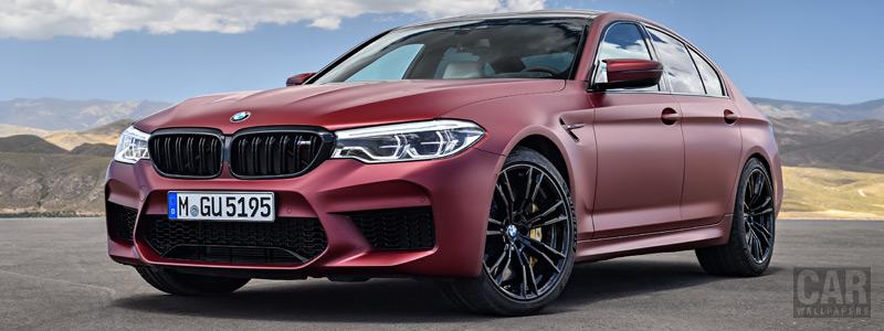 Обои автомобили BMW M5 First Edition - 2018 - Car wallpapers