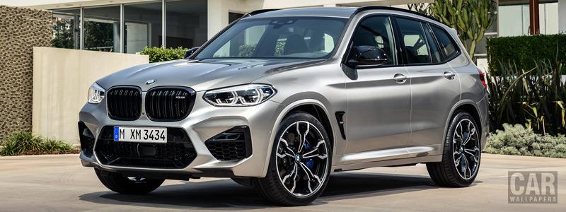 Обои автомобили BMW X3 M Competition - 2019 - Car wallpapers