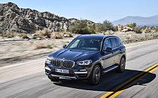 Обои автомобили BMW X3 xDrive30d xLine - 2017