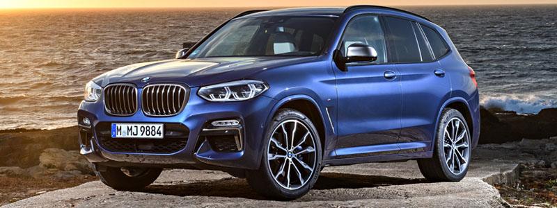 Обои автомобили BMW X3 M40i - 2018 - Car wallpapers