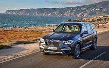 Обои автомобили BMW X3 xDrive30d xLine - 2018