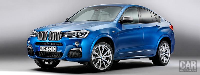 Обои автомобили BMW X4 M40i - 2015 - Car wallpapers