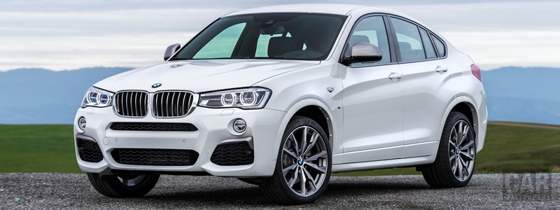 Обои автомобили BMW X4 M40i - 2016 - Car wallpapers
