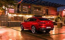 Обои автомобили BMW X4 M40d - 2018