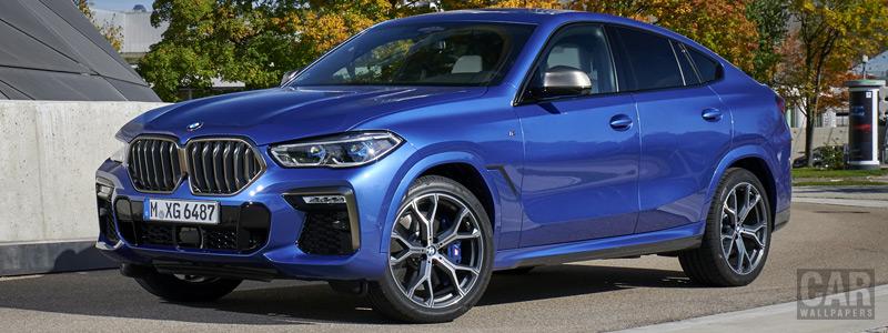 Обои автомобили BMW X6 M50i (MXG6485) - 2019 - Car wallpapers