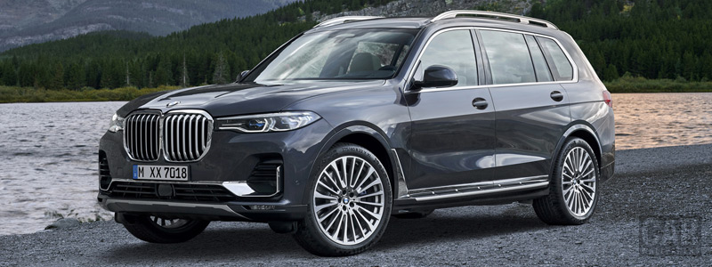 Обои автомобили BMW X7 xDrive40i - 2019 - Car wallpapers
