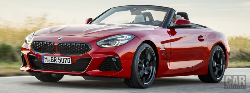Обои автомобили BMW Z4 M40i First Edition - 2018 - Car wallpapers